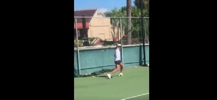 [VÍDEO] Que azar! Schiavone torce pé de forma bizarra e pára um mês
