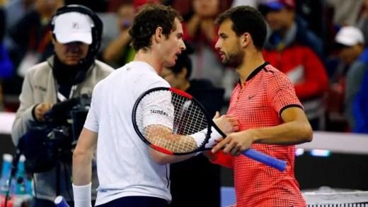 Dimitrov: «O Murray é um campeão que luta sempre até ao final»