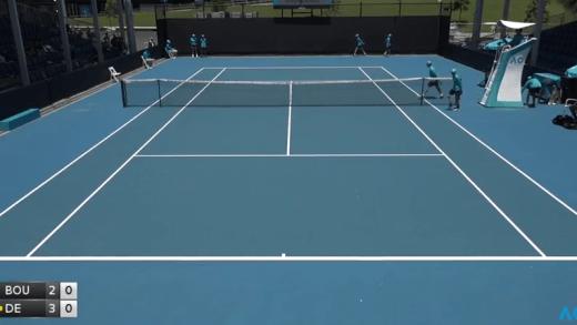 [VÍDEO] Siga o Playoff do Australian Open, em DIRETO