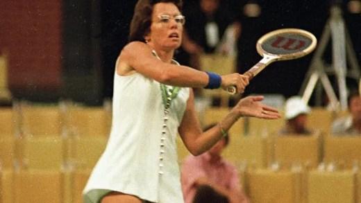 Raquete de Billie Jean-King leiloada por… 125 mil dólares!