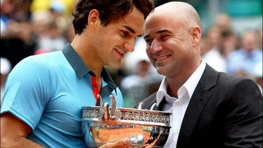 Agassi: «Federer marca o antes e o depois no ténis»