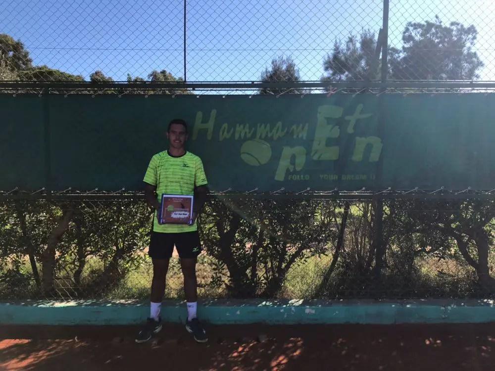 CAMPEÃO. Gonçalo Oliveira vence em Hammamet e conquista quinto título 'future' da carreira