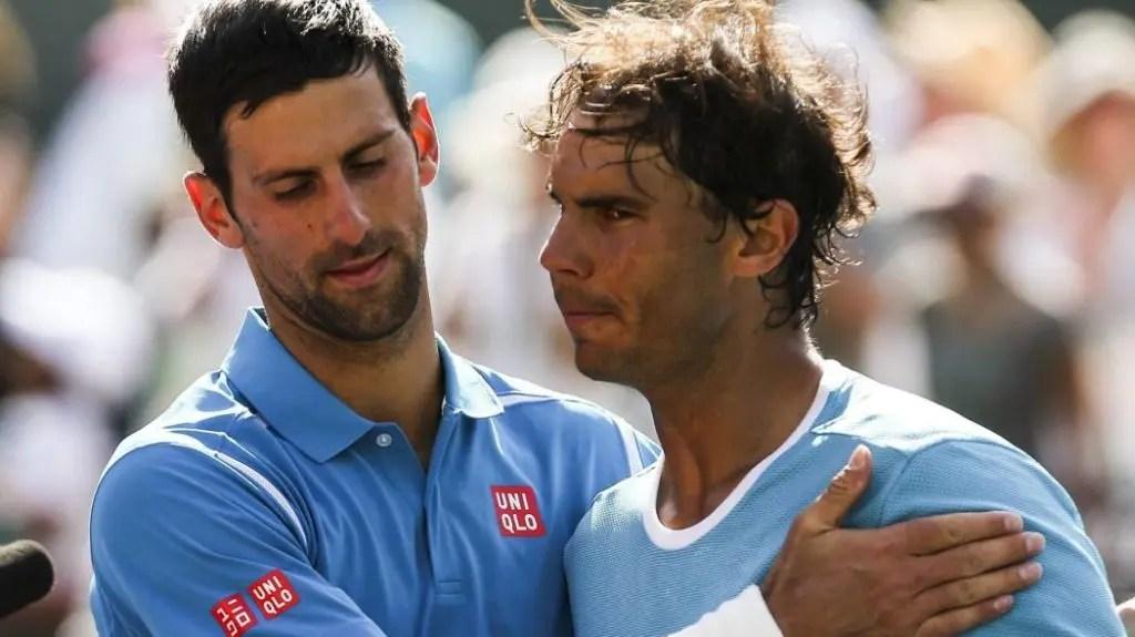 Nadal considera que Djokovic atingiu nível superior ao de Federer