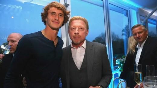 Boris Becker: «Não podem esperar que o Sascha seja número 1 daqui a meio ano»