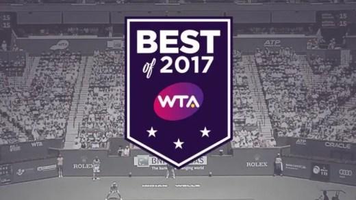 WTA revela as escolhas das tenistas dos melhores torneios de 2017