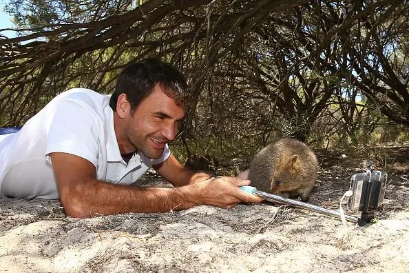 Governo australiano exulta com a viralidade de uma foto… de Federer
