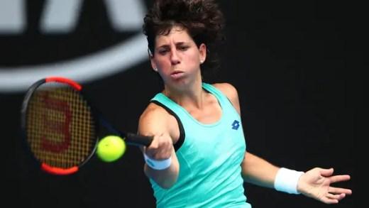 Suarez Navarro protagoniza reviravolta épica e avança para os 'quartos' no Open da Austrália