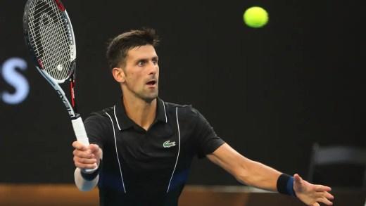 """Djokovic com aviso para a organização? """"Joguei dois encontros na Margaret Court Arena, mas ainda gosto da Rod Laver"""""""