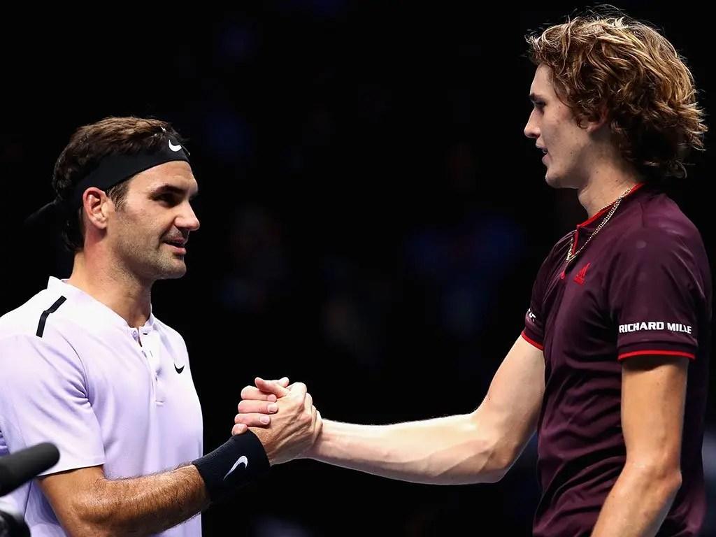 Zverev: «O Federer é a pessoa mais divertida do nosso grupo de Whatsapp»