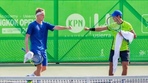 Gonçalo Oliveira perde final de pares em Banguecoque mas aproxima-se do top 150 ATP