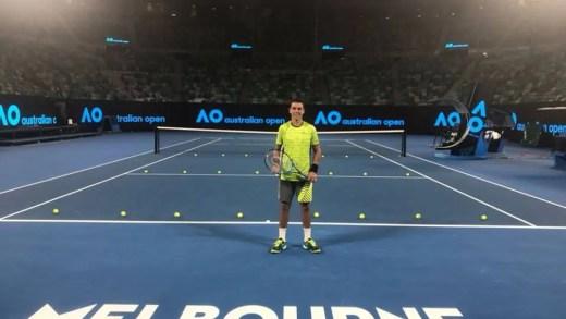 Gonçalo Oliveira e o Australian Open: «Os treinos têm sido com jogadores do quadro principal que me têm ajudado»