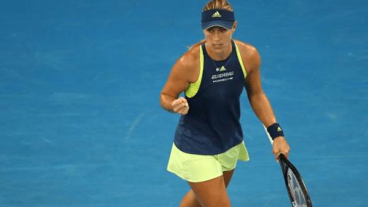 PERFEITA. Kerber arrasa Sharapova rumo aos 'oitavos' em Melbourne