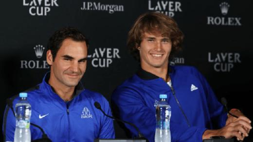 A bonita mensagem de Zverev para Federer: «Obrigado por nos mostrares a tua grandeza»