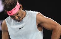 [VÍDEO] O momento em que Rafa Nadal teve de desistir do Australian Open