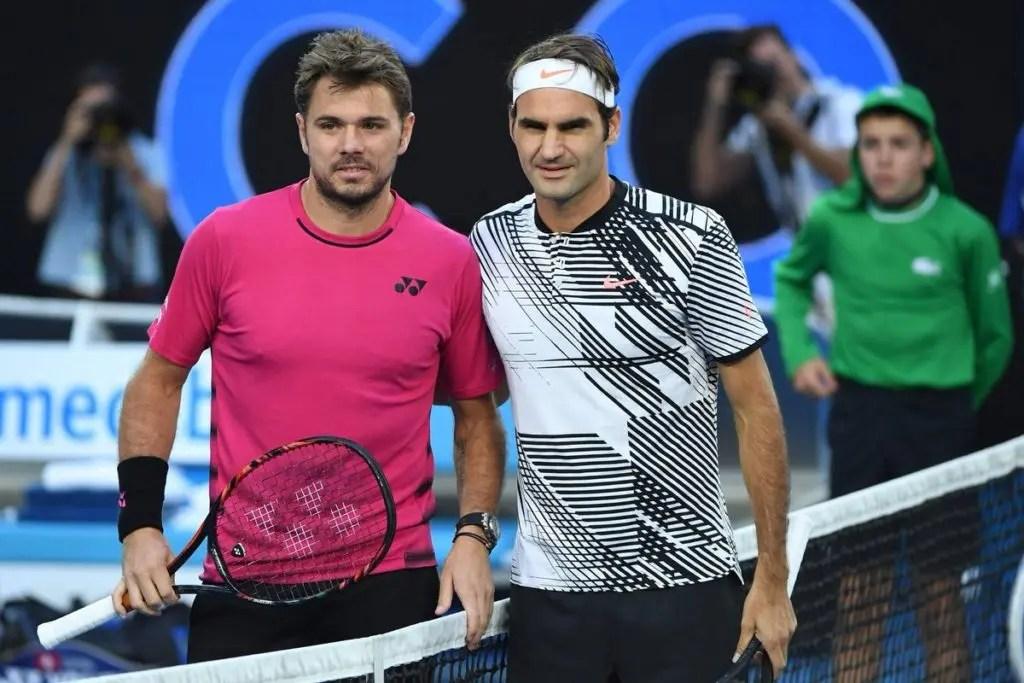 Federer: «Gostava de jogar pelo número um com o Stan»