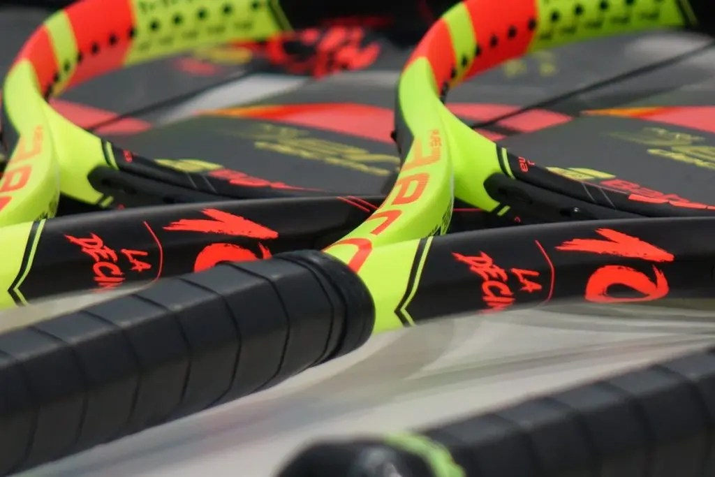 [FOTOS] Esta é a nova arma de Rafael Nadal para 2018