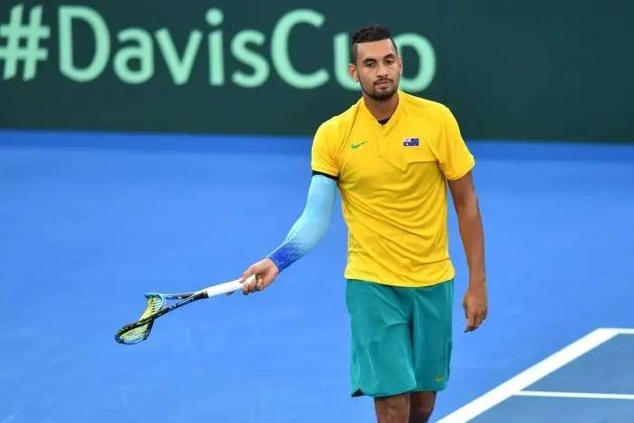Kyrgios desolado com derrota na Davis: «Trocava o meu título em Brisbane pela vitória nesta eliminatória»