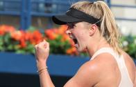 INTOCÁVEL. Svitolina despacha Kerber e vai defender o seu título contra Kasatkina no Dubai