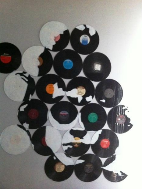 Bob Dylan; Vinyl Records, Acrylic