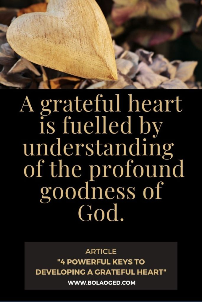Gratitude towards God - how to be grateful