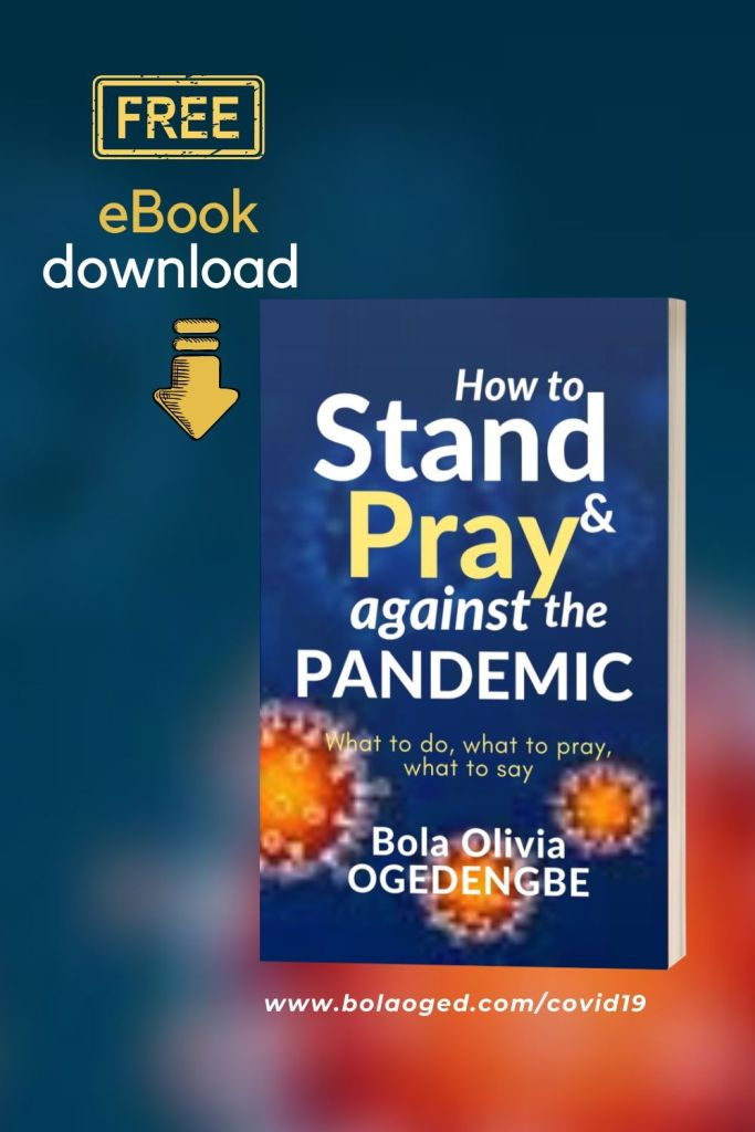 free mini-book 'How to stand and pray against the pandemic.
