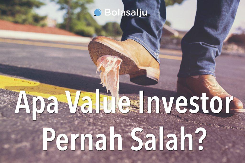 Apa Value Investor Pernah Salah? Credit photo: gratisography