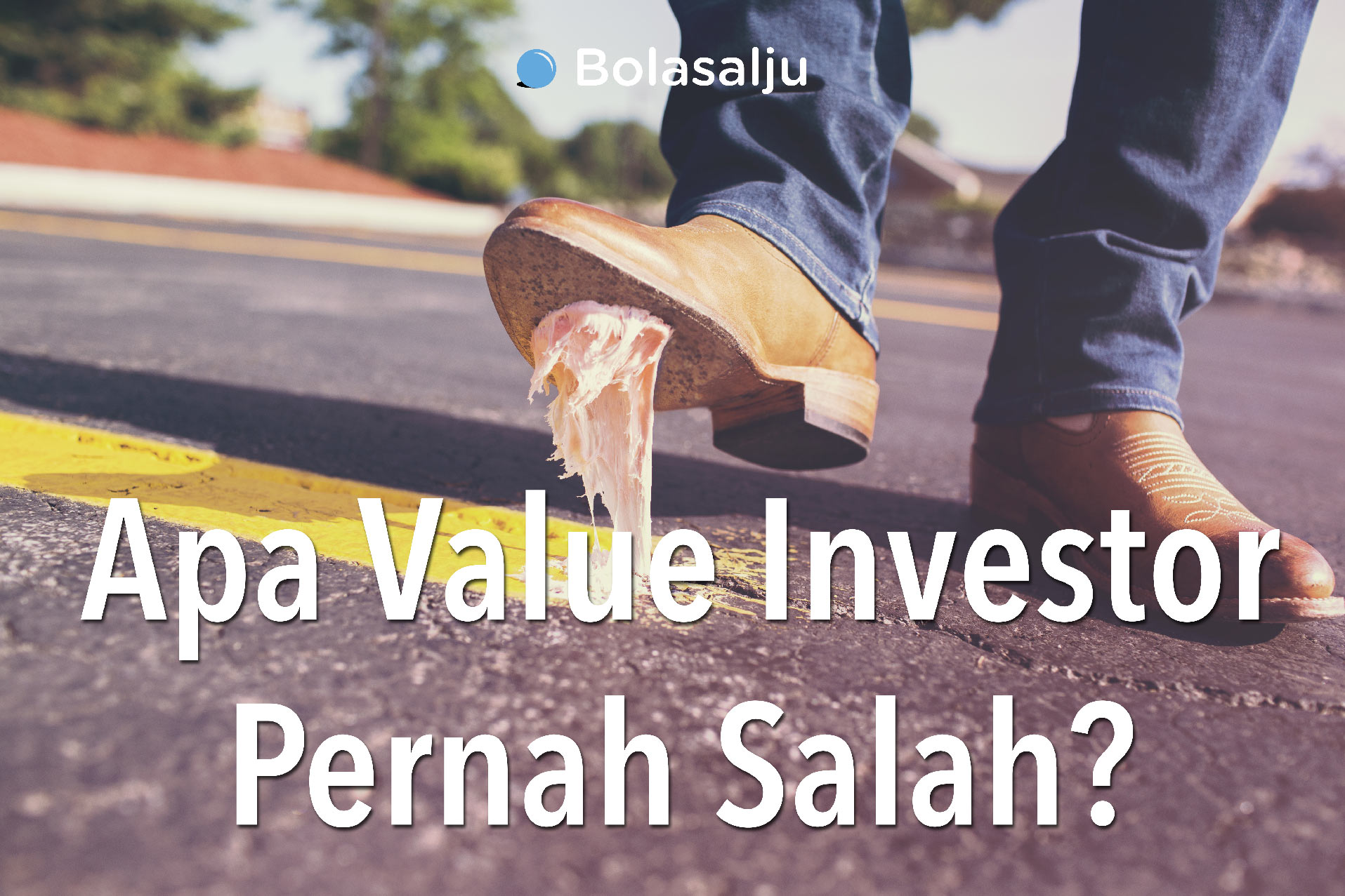 Apa Value Investor Pernah Salah? Credit photo: gratisography