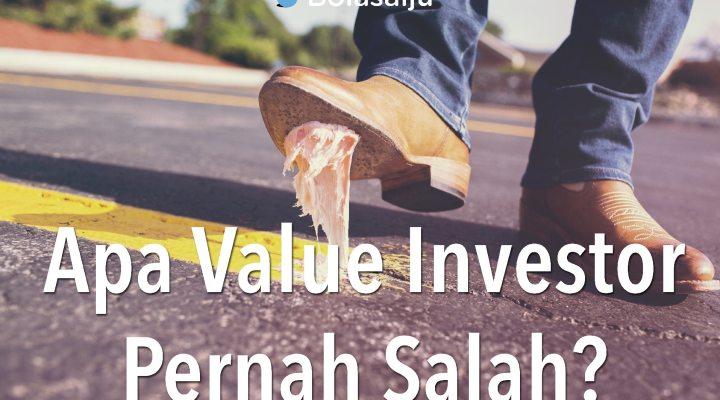 Apa Value Investor Pernah Salah?