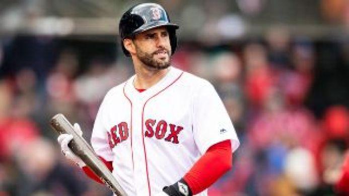 JD Martínez se excusó por su horrible defensa ante los Yankees y no gustó a  los fanáticos de Boston   Bolavip