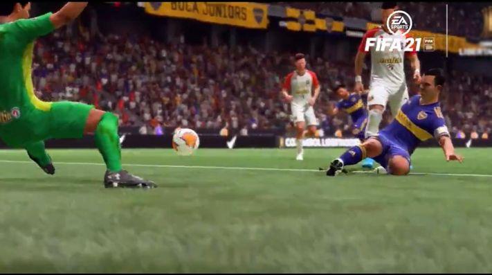 FIFA 21   Recrean el histórico gol de Tévez ante Caracas por la Copa Libertadores   Bolavip