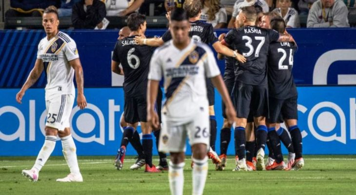 Los Angeles Vs San Jose Earthquakes 22 Agustus 2019