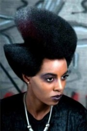 bold with natural hair