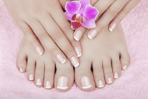 Manicuring And Pedicuring