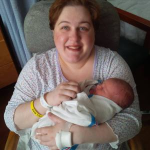 Holly & baby Aoife Bonner