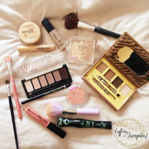 Featured image description for glam makeup on a budget is in the body of the post.
