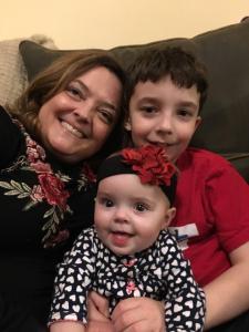 Melody & her children
