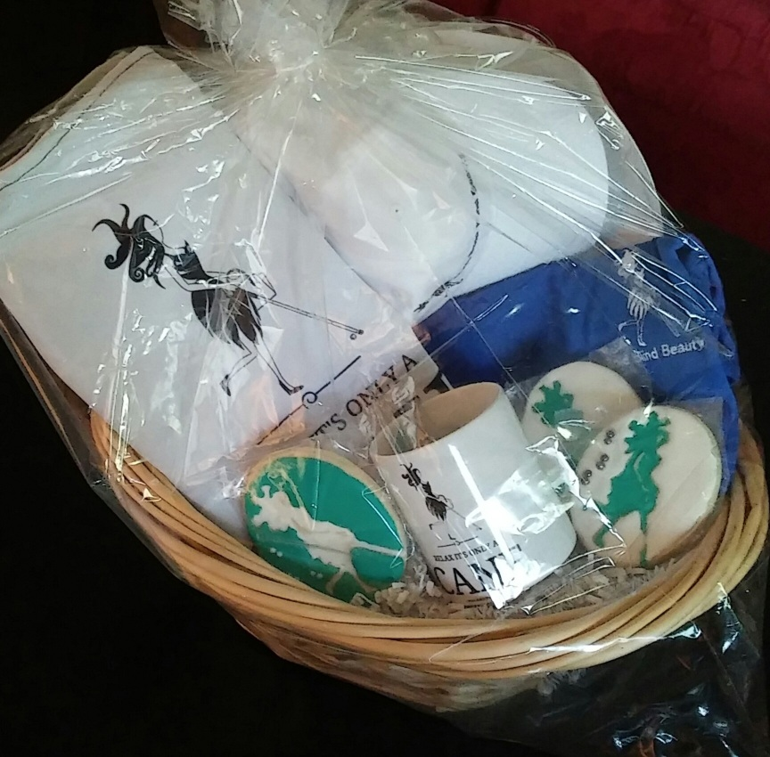BBB Gift Basket with Abby branded swag