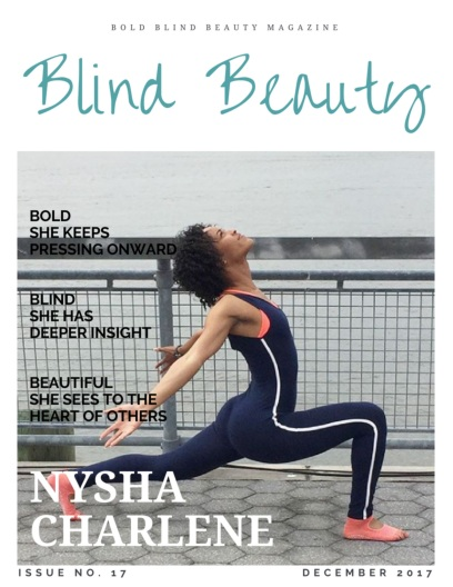 Nysha Charlene | Blind Beauty 17 Featured image description is in the body of the post.