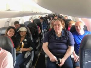 Flight to KS