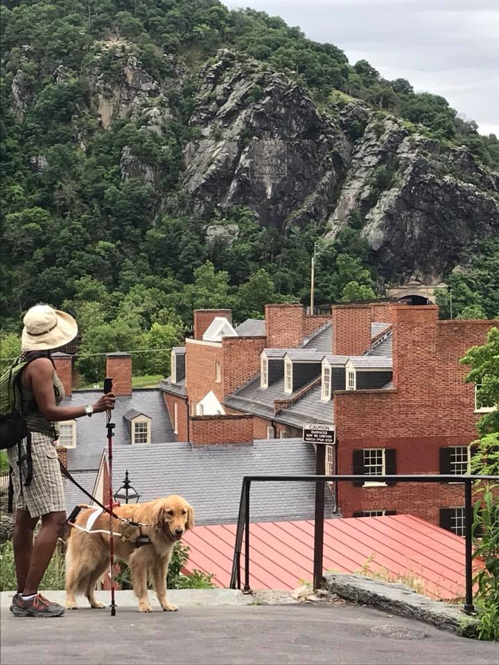 Top of Hill at Harpers Ferry