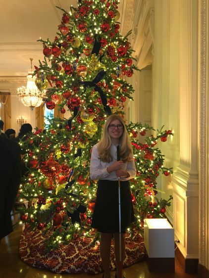 Me at the White House Preparing to Sing