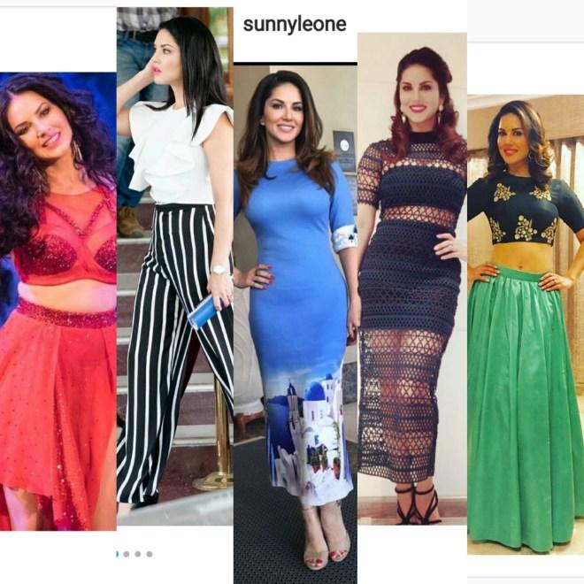 Sunny leone's style