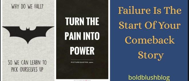 Failure motivation