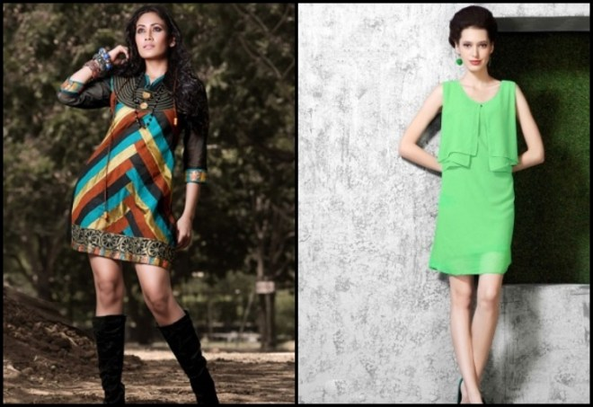 Straight Cut Short Kurti