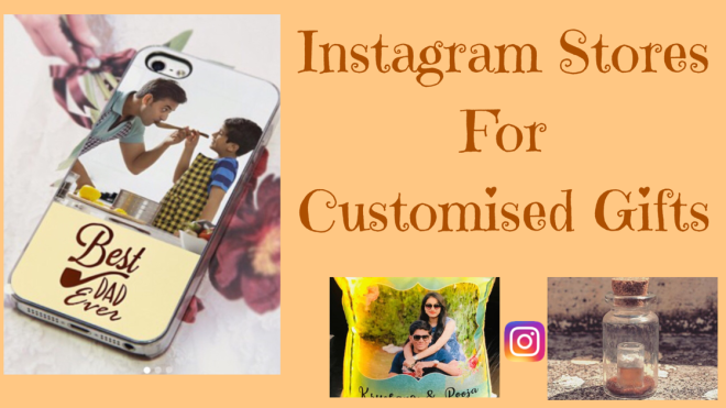 Customised gifts from Instagram stores
