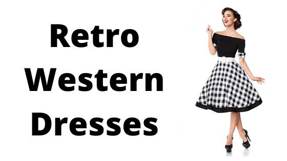 Retro Western Dresses