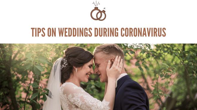 tips on weddings during coronavirus