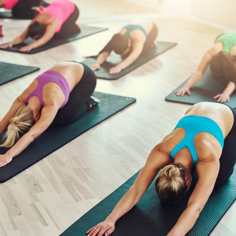Stretching in Yin Yoga