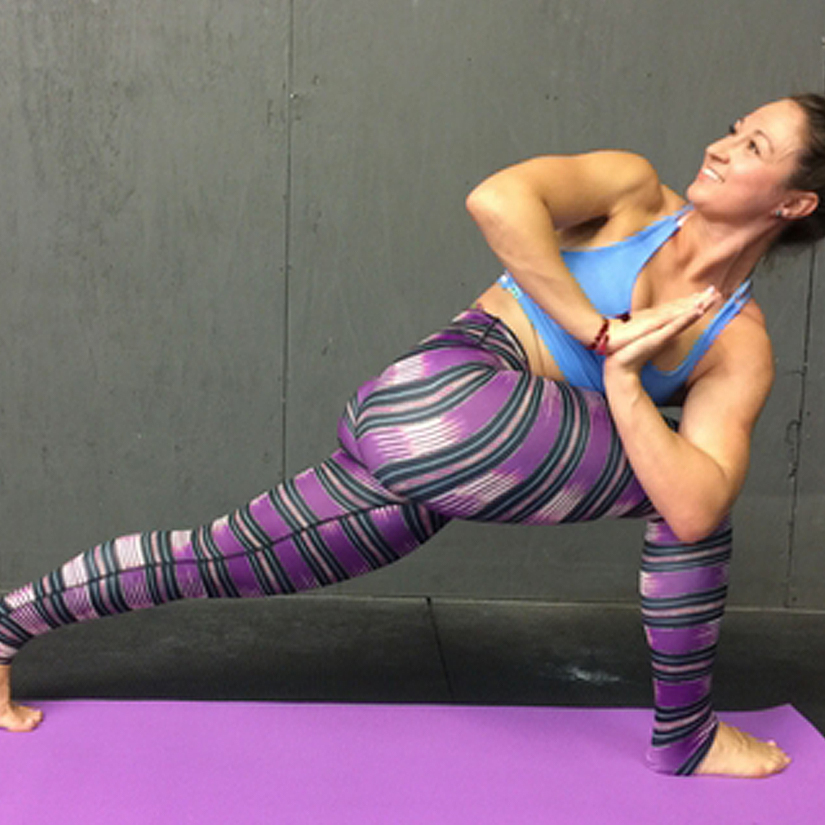 Yoga sculpt builds muscle and flexibility