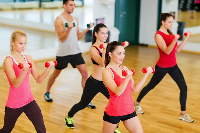 Light weights are a staple of BolderBARRE classes